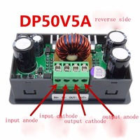 DP50V5A LCD converter Adjustable Voltage meter Regulator Programmable Power Supply Module Buck Voltmeter Ammeter Current tester