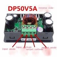 Dp50v5a lcd 컨버터 가변 전압계 레귤레이터 프로그래머블 전원 공급 장치 모듈 벅 전압계 전류계 전류 테스터