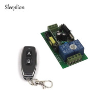 Sleeplion 30A AC 85 В-250 В 2 CH 315/433 МГц Беспроводной удаленного коммутатора передатчик + приемник 110 В 220 В Мощность Беспроводной переключатель