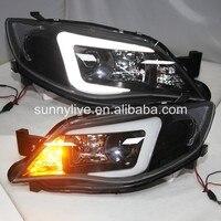 LED headlight For Subaru Impreza WRX 2009 2012 year LED Head Lights SN