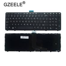 GZEELE NEW English laptop keyboard FOR HP for ZBOOK 15 17 G1 G2 PK130TK1A00 SK7123BL US black(China)
