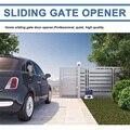 Автоматические раздвижные ворота  открывалка с нейлоновыми рейками  4 м  оборудование  раздвижная дорога  комплект безопасности  опциональн...