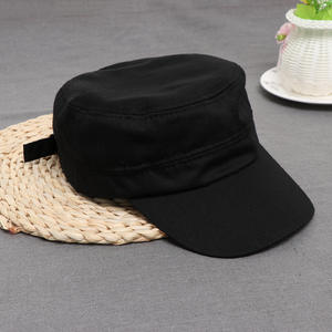 1a4d9cc0d0d HEALMEYOU 1PC Men Women Flat Army Hat Cadet Military Cap