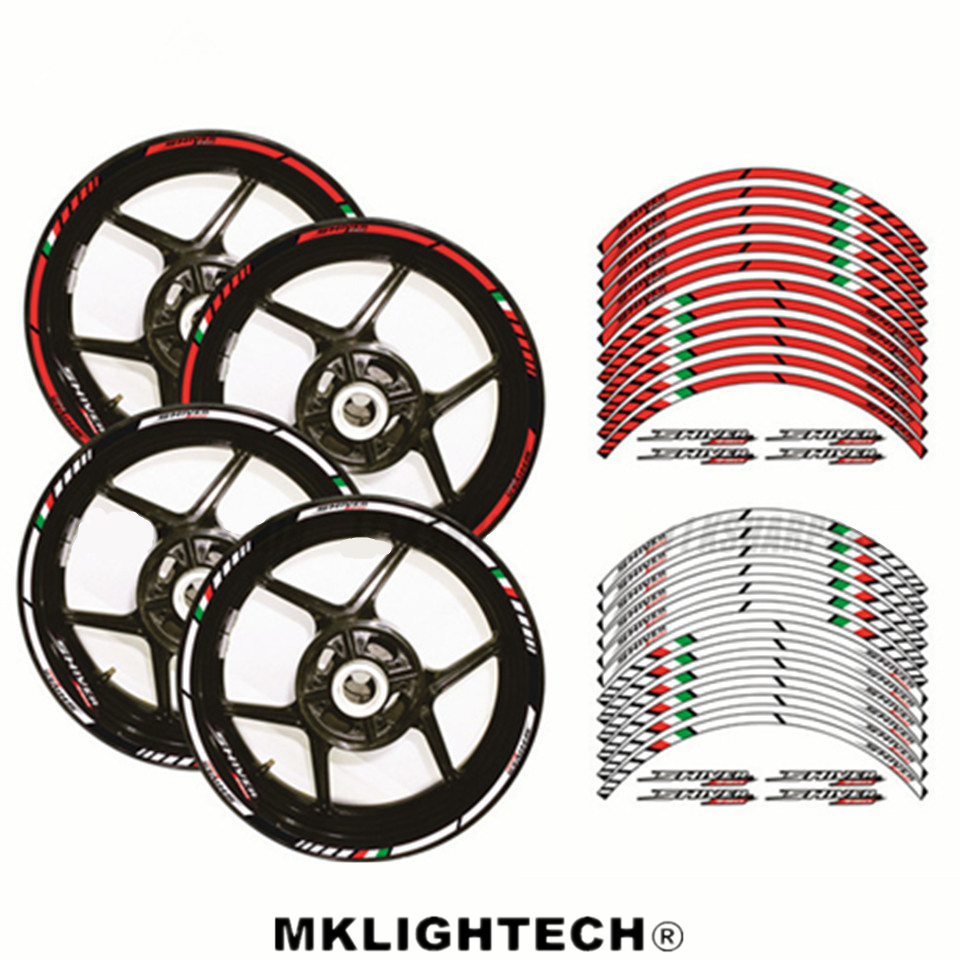 12 X Thick Edge Outer Rim Sticker Stripe Wheel Decals Motorcycle protection FIT APRILIA RSV4 17 39 39 in Decals amp Stickers from Automobiles amp Motorcycles