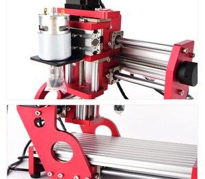 Image 5 - CNC1419 полностью металлический маленький настольный гравировальный станок/медный Алюминиевый металлический гравировальный станок/станок с ЧПУ гравировальный станок