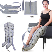 6 Cavity Air Wave Massage Pressotherapy Professional Physiotherapy Air Pressure