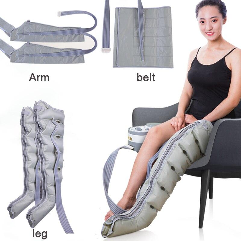 6 cavidade onda de ar massagem bezerro cintura homem velho fisioterapia pressão ar ciclo automático pedicure reabilitação pós-operatória