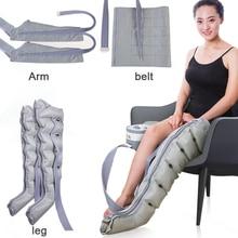 6 cavità di Aria Onda Massaggio Polpaccio Vita Vecchio Fisioterapia Pressione Dellaria Ciclo Automatico Pedicure Postoperatorio di Riabilitazione