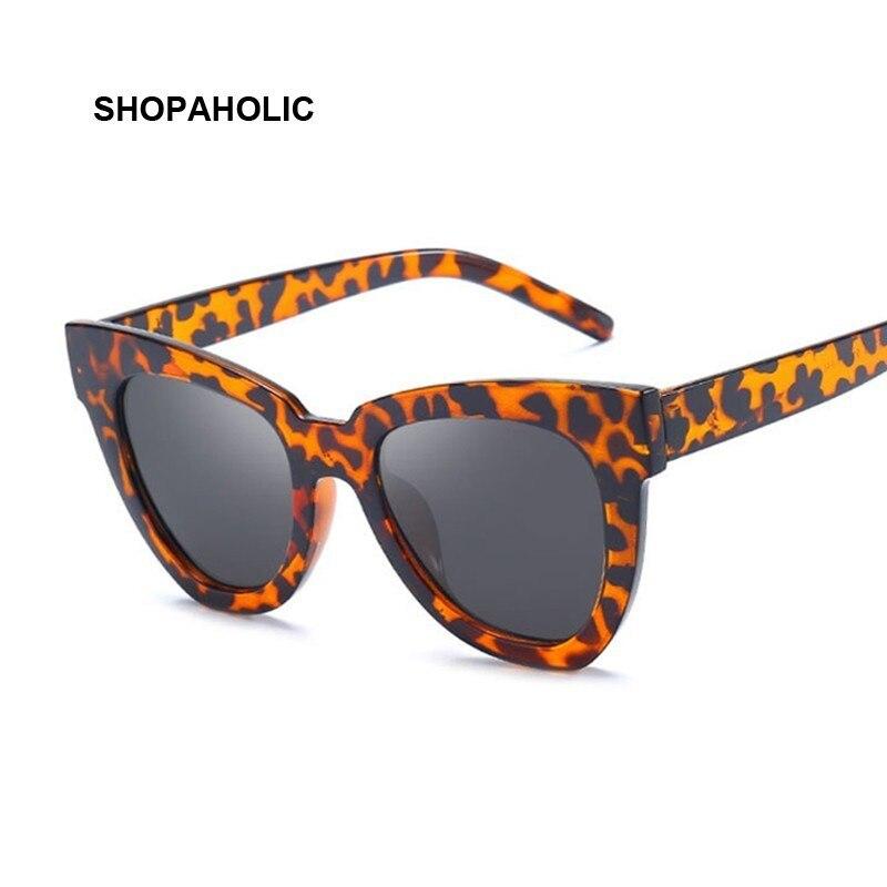 2020 Cute Sexy Ladies Cat Eye Sunglasses Women Vintage Brand Black Sun Glasses For Female Leopard Glasses UV400