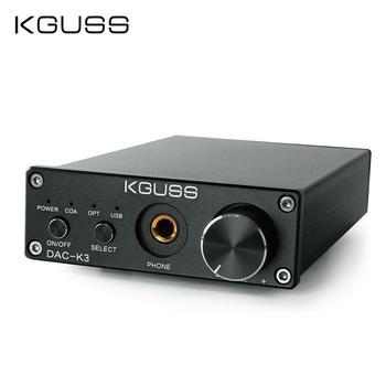 KGUSS DAC-K3 TPA6120 2 0 MINI HIFI USB DAC dekodowany Audio wzmacniacz słuchawkowy 24BIT 192KHz OPA2134 AMP DC12V US ue tanie i dobre opinie WYJŚCIE LINIOWE (AUDIO OUT) 251-300 Ohm KONCENTRYCZNE OPTYCZNE CS4398 149*98*33MM Profesjonalny wzmacniacz 5532 2 (2 0)