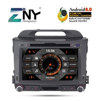 8 IPS Android 9.0 Car DVD For Kia Sportage 2009 2010 2011 2012 2013 2014 2015 Auto Radio FM WiFi GPS Navigation Backup Camera