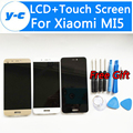 Para xiaomi mi5 display lcd + touch screen 100% novo lcd touch screen substituição assembleia painel para xiaomi mi5 prime pro