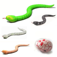 Remote Control music voice electric simulation Snake Halloween IR RC plastic Snake rattlesnake model Tricky Prank Scary Toy gift