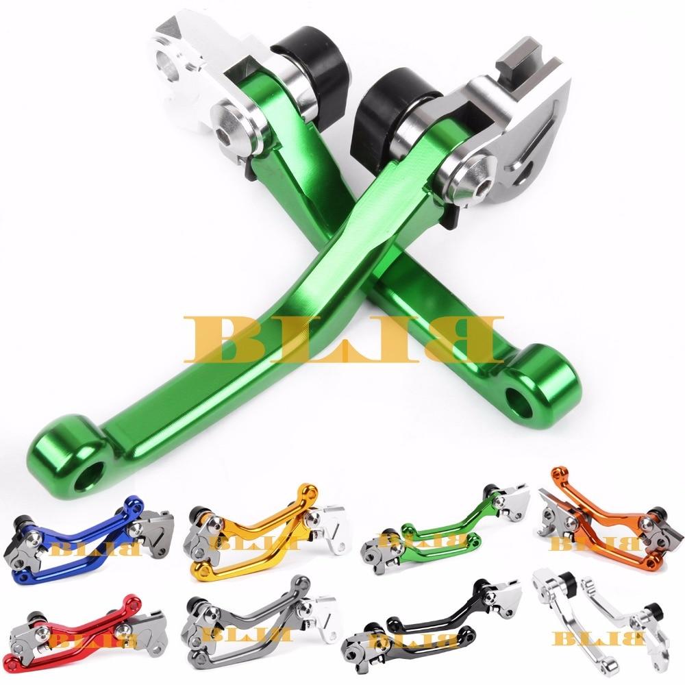For Kawasaki KX65 KX85 KX125 KX250 KX250F KX100 KX500 Motocross Off Road CNC Pivot Racing Dirt Bike Hot Sale Clutch Brake Levers