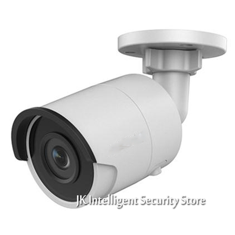 Hikvision English Version Smart Webcam DS-2CD2085FWD-I IP housing 8MP Bullet IR network cctv Camera POE security HD Mini White