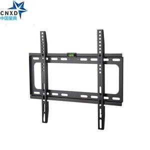 Image 2 - CNXD stały telewizor telewizor montowany na ścianie uchwyt dla większości 26 55 Cal LED LCD i telewizor plazmowy do VESA 400x400mm i 110lbs ładowność
