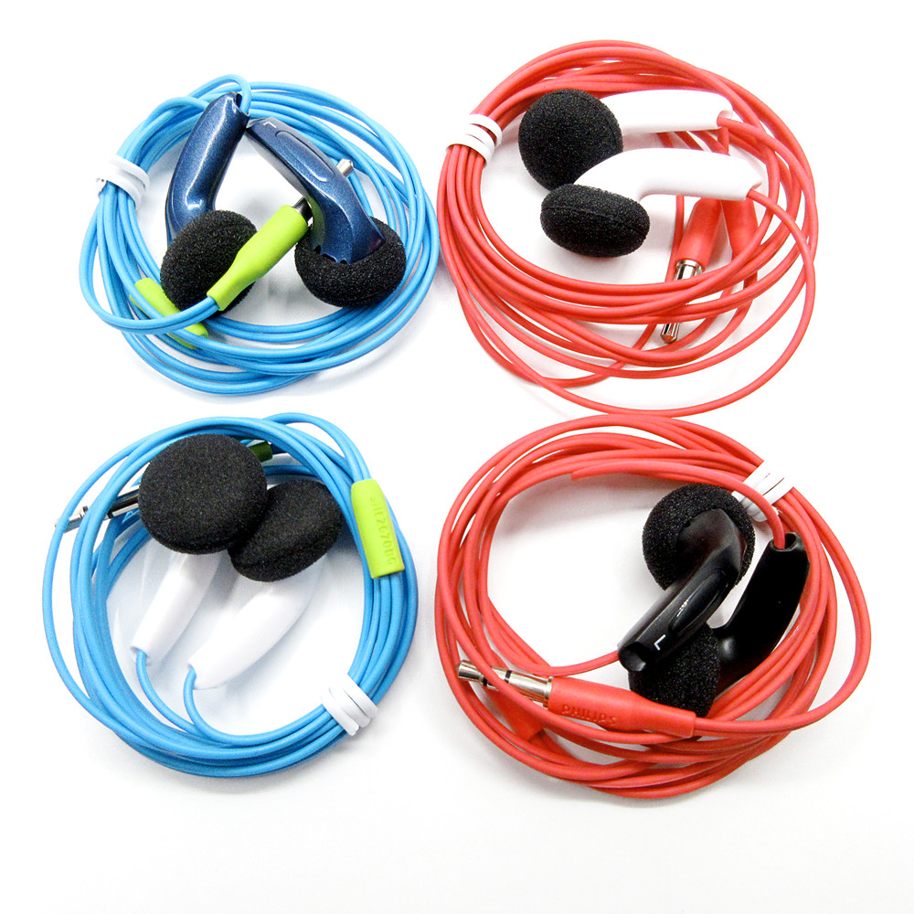 Newest In-ear Earphones Flat Head Plug DIY Earphone HiFi Bass Earbuds DJ Earbuds Heavy Bass Sound Quality DIY MX500