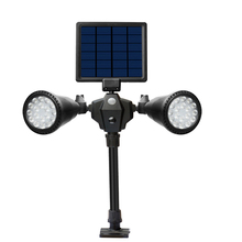 36LED solar light outdoor lighting on energy garden lights decorative spotlights