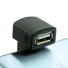 Up Right Angled 180 Degree Micro USB OTG to USB 2.0 Female Extension Adapter for Cell Phone & Tablet 180 degree up