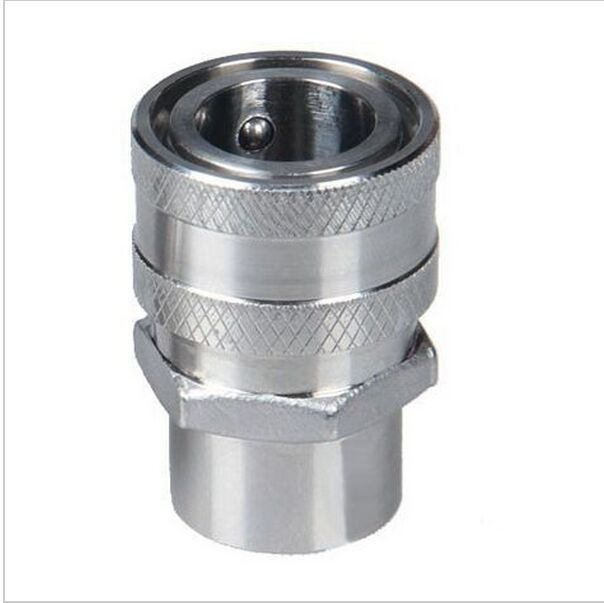 """Stainless Female Quick Disconnect, Homebrew Fitting, 1/2"""" Female NPT thread,  beer Quick Disconnect for home brewring"""