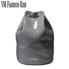 VM Mode Baiser Victoria Femmes Cordon Lumière Poudre Voyage Seau De Plage Sac Polochon Sac Emballage Cubes VS École Sac À Dos