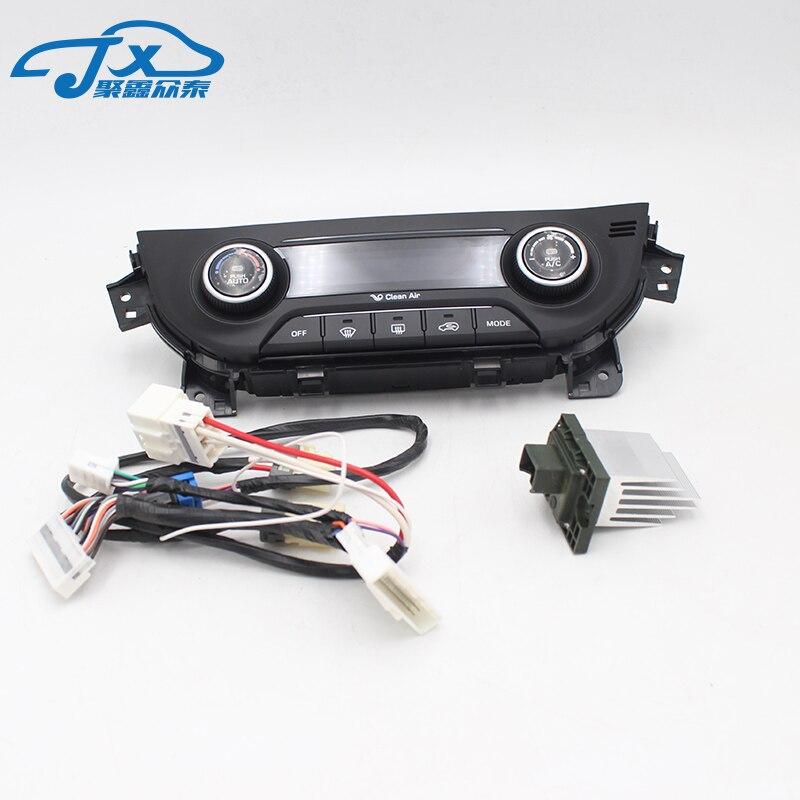 Обновление для HYUNDAI ix25 Creta нагреватель управление AC/переключатель автоматический Кондиционер авто/ручной Кондиционер панель управления