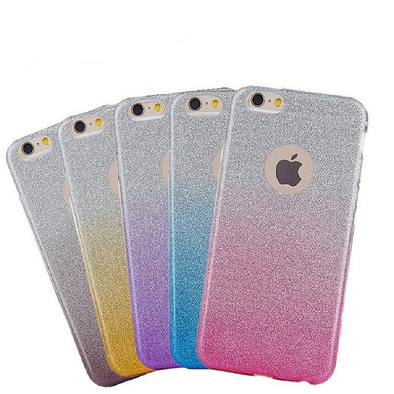 For <font><b>Nokia</b></font> 6 2018 3.1 5.1 <font><b>7.1</b></font> Plus <font><b>case</b></font> Coque Ultra-thin Gradient Color <font><b>Glitter</b></font> shell <font><b>case</b></font> on for <font><b>Nokia</b></font> 6 5 8 7plus Cover fundas image