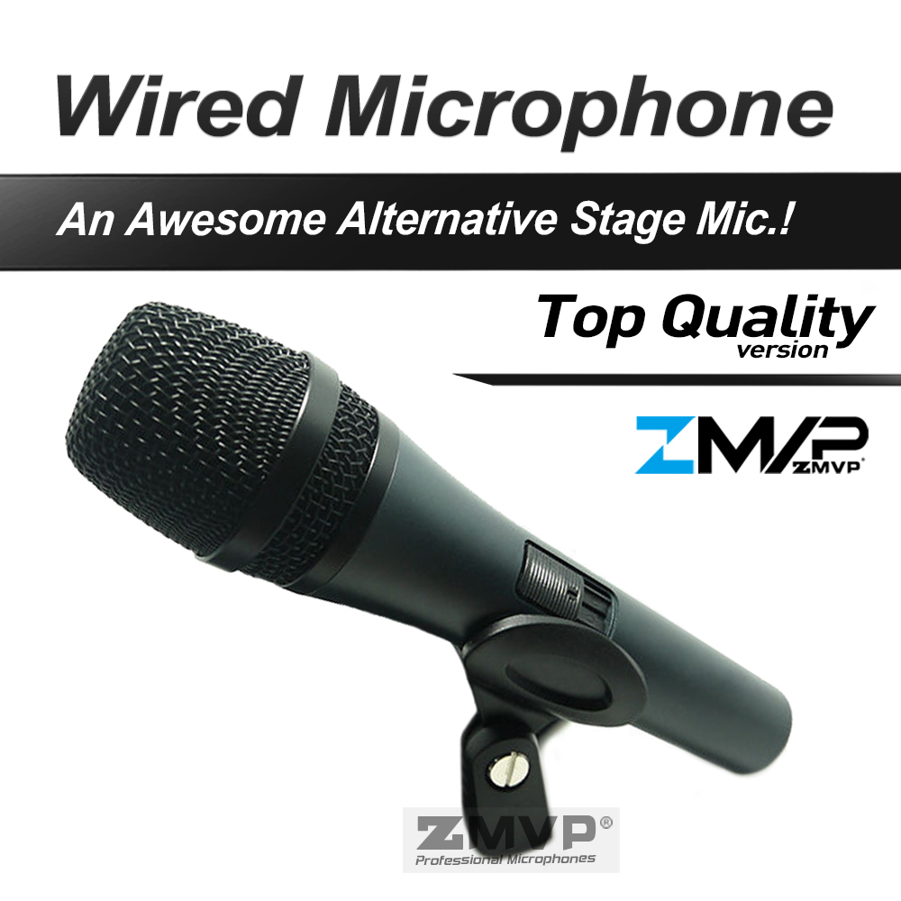 Free Shipping Top Quality Professional 845 Dynamic Super cardioid karaoke Vocal Wired Microphone Microfone Microfono Mic