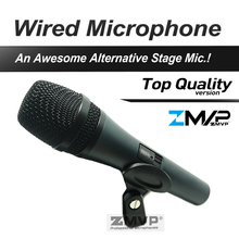 Livraison Gratuite! Top Qualité Professionnelle 845 Dynamique Super-cardioïde karaoké Vocal Wired Microphone Microfone Microfono Mic