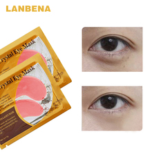 24 K Gold Collagen Eye Mask Eye Patches Dark Circle,Eye Bag Anti-Aging,Wrinkle Firming Skin Care (10 pcs)