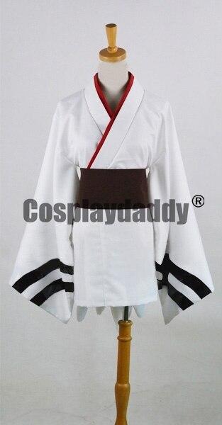 Евангелион EVA Rei Ayanami кимоно юката платье наряд Косплэй костюм F006