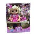 Моделирование мода может говорить, есть немного еды, пить воду, в туалет ребенок жив кукла модель Фигурки детские игрушки детям