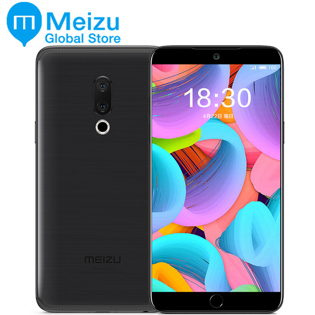 "Original Meizu 15 4GB 64GB Snapdragon 660 4G LTE Smart Phone Octa Core 5.46"" 1920x1080P Screen Fingerprint ID Fast charger"