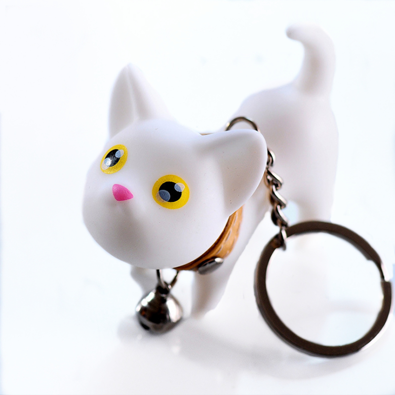 Cute Cartoon Dolls Kate Cat KeyChain Porte Clef Women KeyRing Car Trinket  Couple Key Chains Kids Toy Key Ring Charms Pendant -in Key Chains from  Jewelry ... 06c5e64d5e