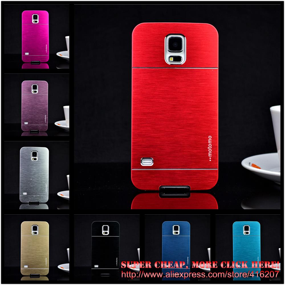 Luxury Mobile Phone Cases For Samsung Galaxy S4 S5 S6 Case i9500 i9600 G925 Metal Aluminium Covers Accessories Capa