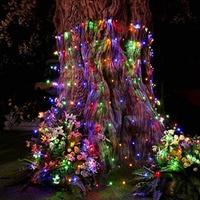 LED Net Lights 9.8ft x 6.6ft 320 LEDs Mesh Fairy Lights for New Year Valentine Christmas Wedding Home Garden Party Decor