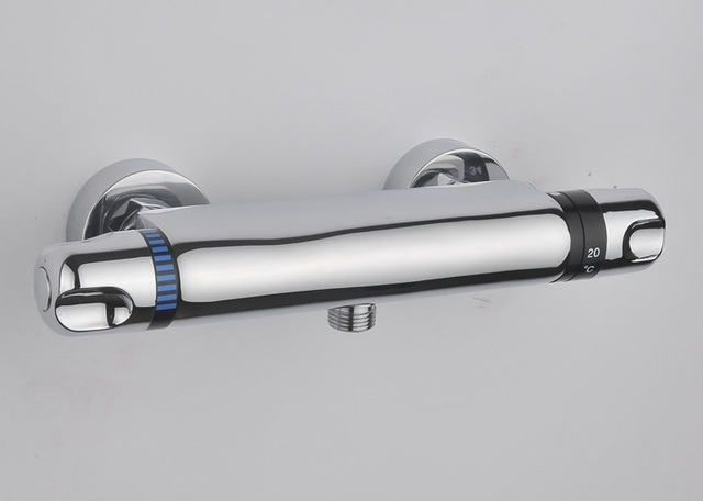 Doccia in ottone rubinetto valvola termostatica bagno termostatico