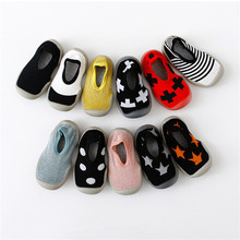 EnkeliBB Baby Boy Shoes For 1 Year Old Cross Print Cool Baby