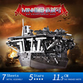 2016 MU 3D Metal Puzzle Janpan Mini Aircraft Carriers AKAGI Building Model YM-N018 DIY 3D Laser Cut  Assemble Toys For Audit
