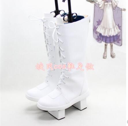 Vocaloid Miku Senbon Sakura LUKA MEIKO Cosplay Costume Boots Boot Shoes