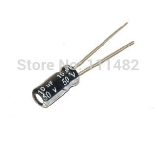 1000PCS/LOT Electrolytic <font><b>capacitors</b></font> <font><b>50V</b></font> <font><b>10UF</b></font> 4*7MM <font><b>10uf</b></font> <font><b>50v</b></font> <font><b>capacitor</b></font> image