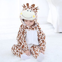 2018 Infant Romper Boy girls Clothes Cotton Cartoon Hooded Toddler Baby
