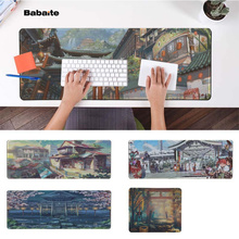 Babaite Vintage Cool Japan Anime scenery Natural Rubber Gaming mousepad Desk Mat Free Shipping Large Mouse Pad Keyboards