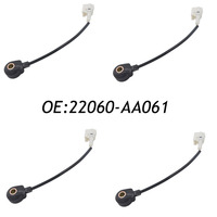 4PCS Front Knock Detonation Sensor For Subaru Legacy Forester Impreza 22060 AA061