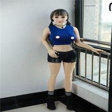 Seks bebek 148cm #5 ile tam TPE İskelet yetişkin japon aşk bebek vajina gerçekçi Pussy gerçekçi seksi bebek erkekler için