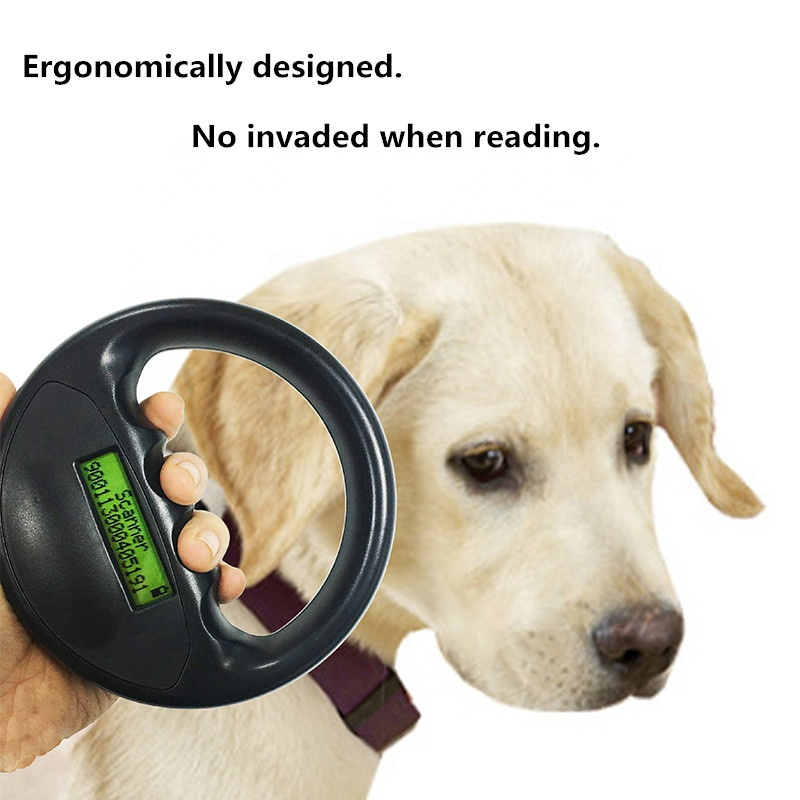 Microchip Animal Transponder ID Scanner Rfid Reader Pets Identification AVID,FDX-A,ISO FDX-B Standard