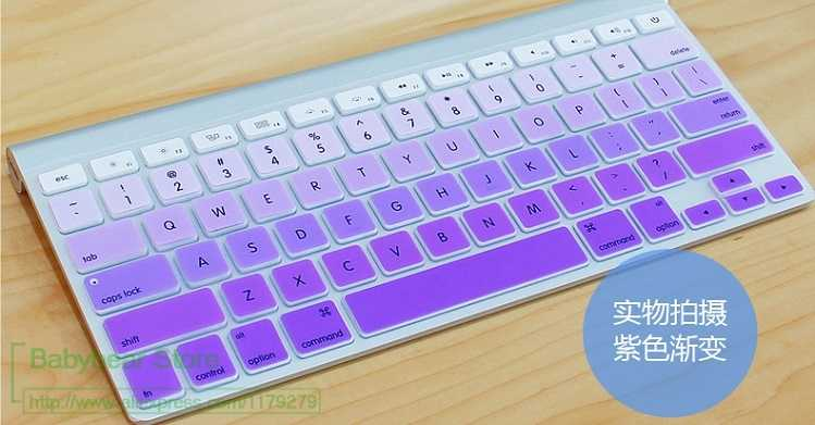 Desktop PC Accessory for Apple Bluetooth Wireless keybord MC184CH A1314 IMAC G6 IMC Keyboard Protector US English Version