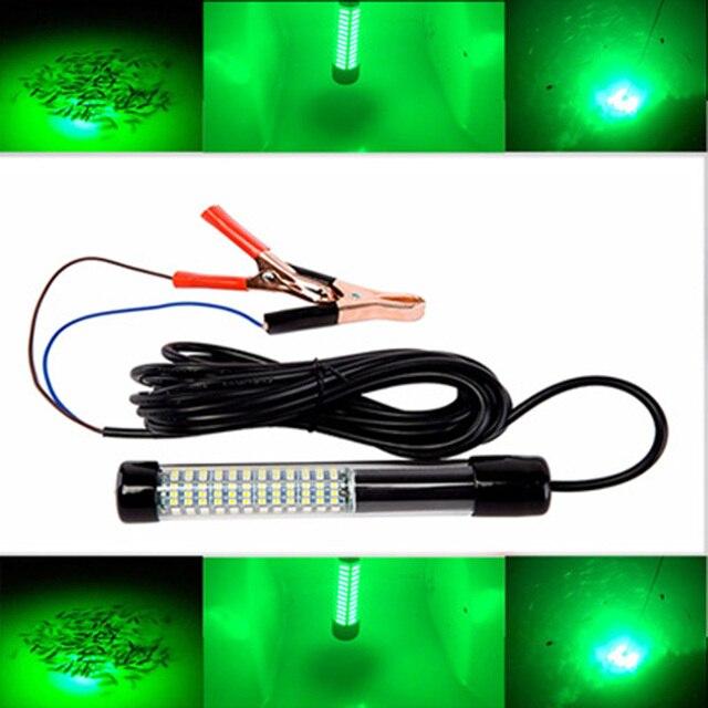 1 قطعة LED قذيفة سوداء تحت الماء لمبة صيد ليلة مصباح الصيد حوض الزخرفية ضوء 12 V