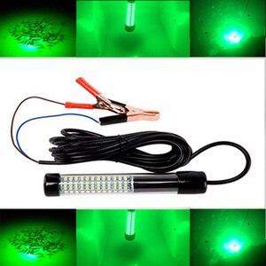Image 1 - 1 Pcs LED Black Shell Underwater Fishing Lamp Night Fishing Light Dock Decorative Light 12V