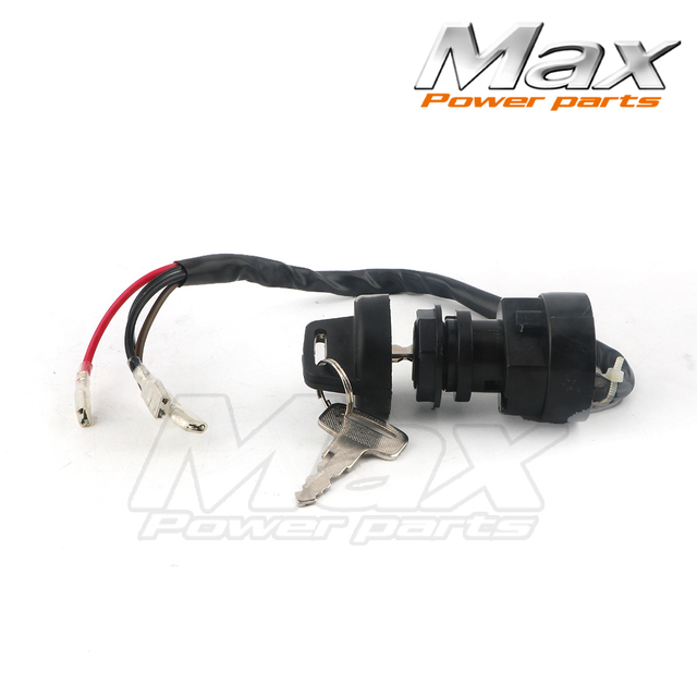 Max Ignition Key Switch Fits Polaris TRAIL BOSS 350 2X4 4X4 1990 1991 1992 ATV NEW High Quality 100 Brand New Ready To Install